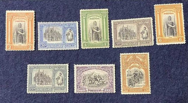 Coleção Selos Portugal - Independência de Portugal 1ª Emissão Ano 1926