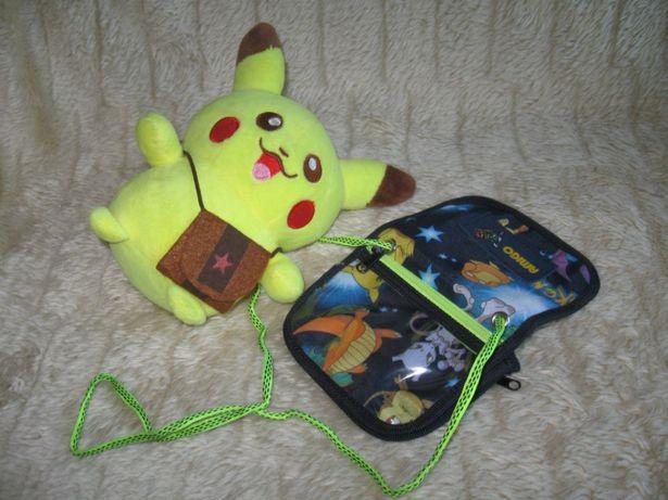 Pokemon Pikachu i Portfelik Nintendo - Nowe