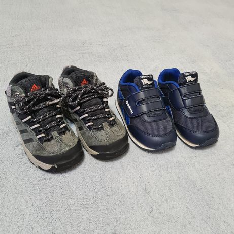 Кроссовки Reebok хайтопы Adidas 24-25 размер 14-15-16 см кросівки
