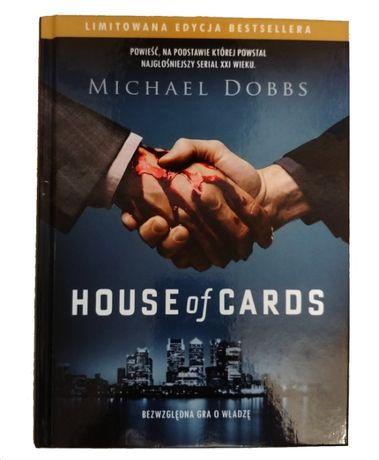 Książka - HOUSE of CARDS Michael Dobbs - NOWA !!
