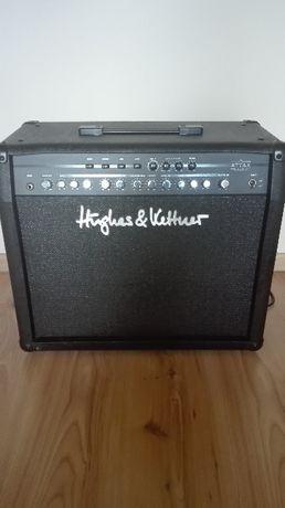 hughes & kettner attax 100 W -wzmacniacz gitarowy, combo + footswitch