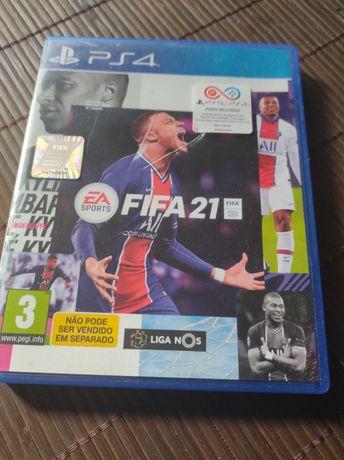 FIFA 21 jogo PS4