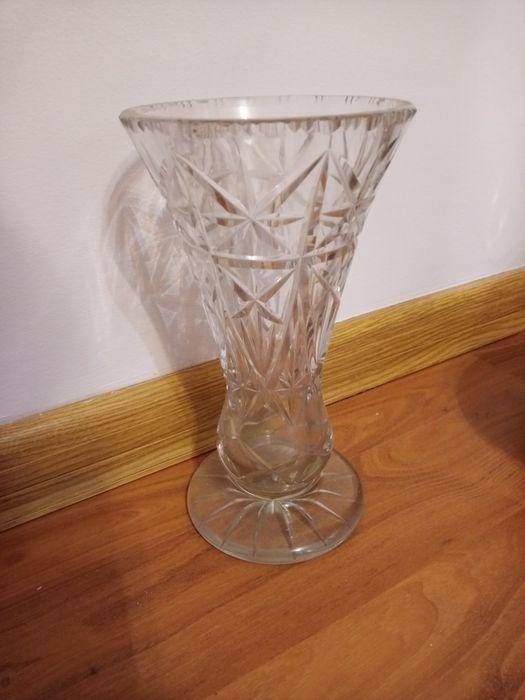 Wazon kryształowy na stópce,wys 23 cm Czapury - image 1