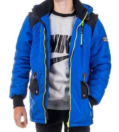 Демисезонная куртка - жилетка на мальчика 6-16 лет
