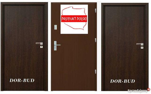Polskie drzwi antywłamaniowe do mieszkań w bloku, cały zestaw!