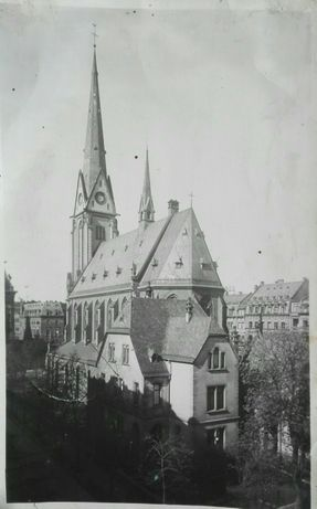Pocztówka Moguncja Postkarte Kirche St Stephan Mainz Gonsenheim