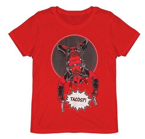 "DEADPOOL ""Tacos!?""- T-Shirt"