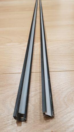 Profil aluminiowy led 45 stopni 2m mleczny 2 szt