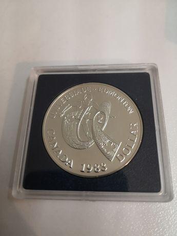 1 dolar Kanada 1983 r. srebro mennicze