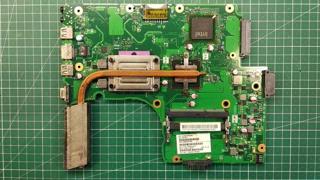 Материнская плата с процессором Toshiba C650 на запчасти