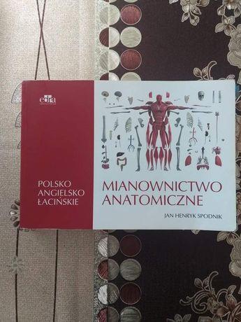 Mianownictwo anatomiczne polsko-angielsko-łacińskie J.H. Spodnik