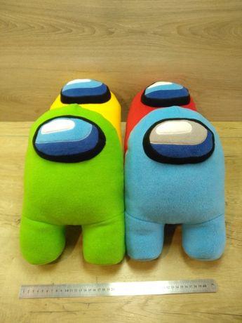 Игрушка Амонг Ас, Among Us, игрушка космонавт, мягкая игрушка Амонг Ас