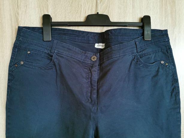 Granatowe spodnie C&A Canda 50