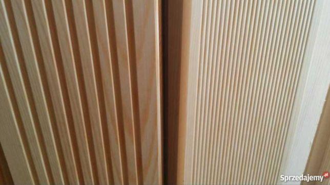 Deski tarasowe elewacyjne półbal podbitka boazeria listewki bal
