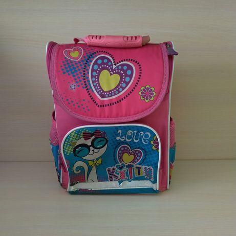 Шкільний рюкзак з ортопедичною спинкою для дівчинки школьный рюкзак