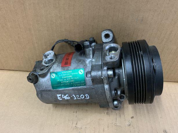 Compressor AC BMW E46 320D Ar condicionado