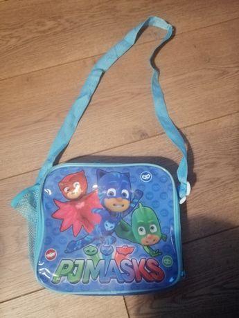 Pidżamersi torba plecak lunch box pjmasks