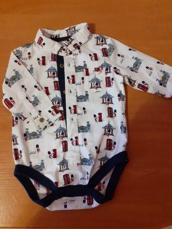 Рубашка боди рубашка-бодік