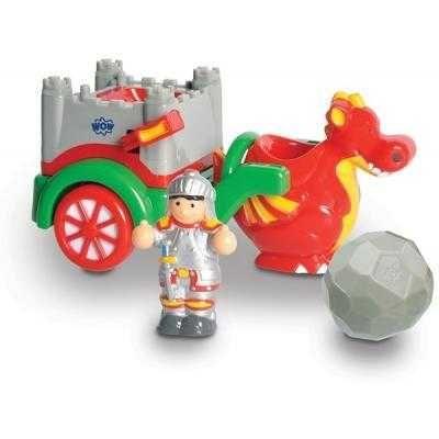 Развивающая игрушка Wow Toys Колесница история дракона Джорджа