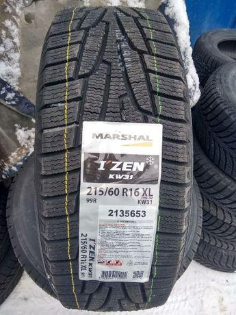 Зимние шины 215/60 R16 Marshal I ZEN KW31 - 2020,РАССРОЧКА 0