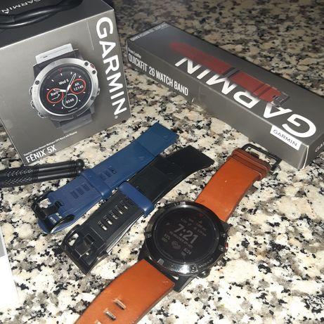 Smartwatch Garmin 5X Sapphire Edition
