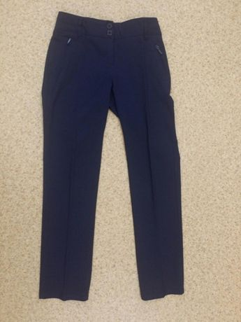 Брюки штаны синие M&S школьные для девочки