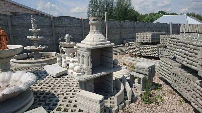 Grill/grill betonowy