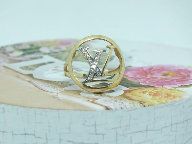 ** Złoty pierścionek 3g p.585-Lombard Stówka**