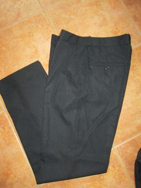 Calças pretas para restauração n 42 e calçoes nº40
