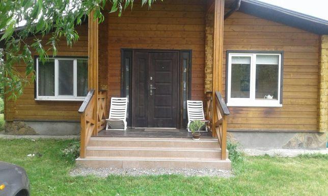 Новый деревянный дом из клеенного бруса 70 м кв и участок - Васильков