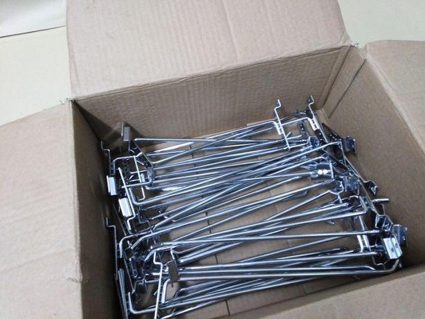 Ganchos para Prateleiras, etc ... conjunto de 42 unidades com 30cm