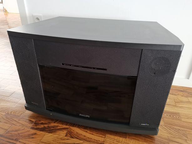 Móvel TV Philips com colunas dolby surround