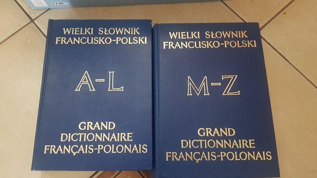 Wielki słownik francusko-polski II tomy