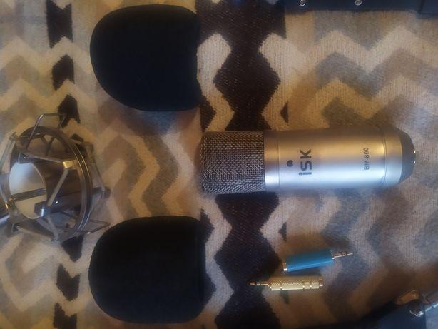 Студийный микрофон ISK BM 800 фант пит isk mic2000 звук карт xonor u5