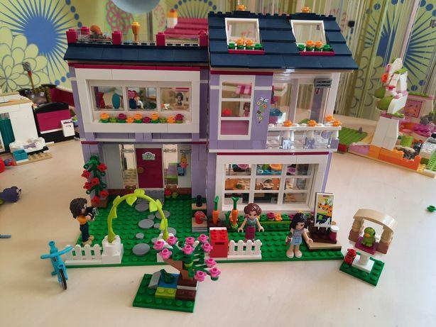 Конструктор Lego friends дом Эммы 410 95 Оригинал