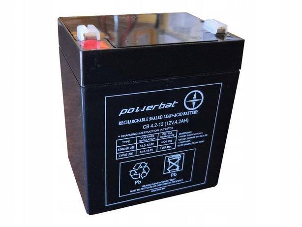 Akumulator żelowy Powerbat Cb 4,2, 12 12v 4,2Ah