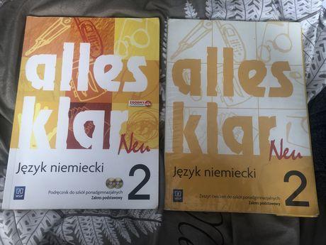 Alles klar 2 podręcznik+ćwiczenia
