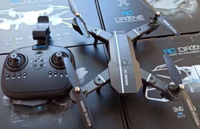 RC DRONE до 100 м квадрокоптер / вертолет - функция возврата / дрон
