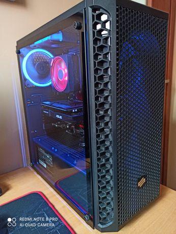 Komputer SilentiumPC, AMD R5, SSD M2 500GB, HDD 1TB, GTX 1050TI, 2x8GB