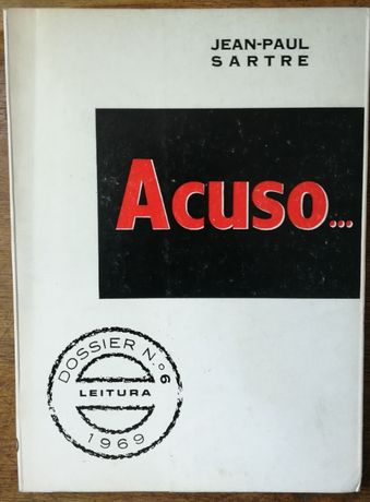 acuso..., jean-paul sartre, 1969