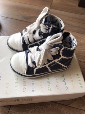 Sneakersy Geox, dla chłopca rozm. 21, cena 50zl z przesyłką