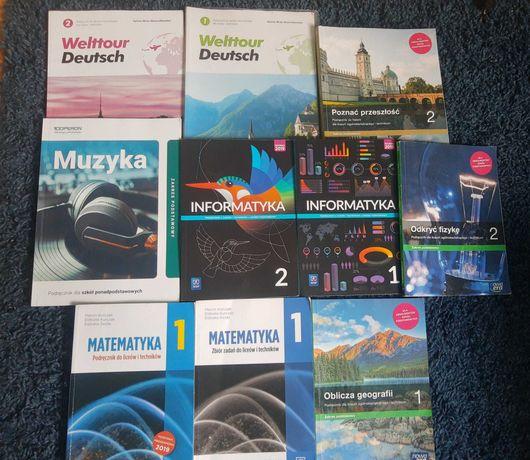 Książki 1/2 klasa dla szkół Ponadpodstawowych