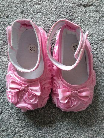 Różowe baletki dla dziewczynki