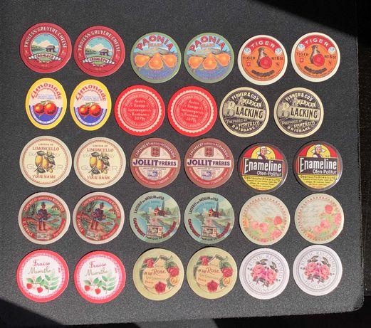 Vintage Stickers Pack 2 (30 autocolantes)