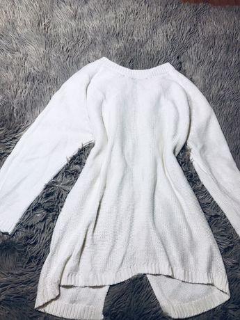 Джемпер свитер zara xs s белый