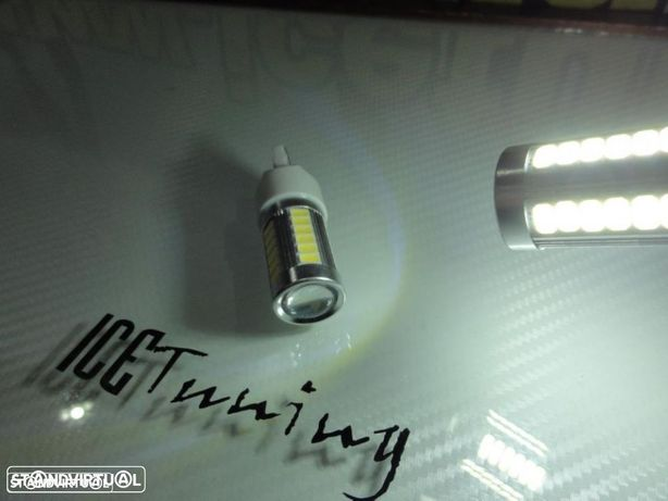 Led Can Bus T20 / 7443 21/5W 2 POLOS Branco 10W, 825 LUMENS 12-24V LED SAMSUNG