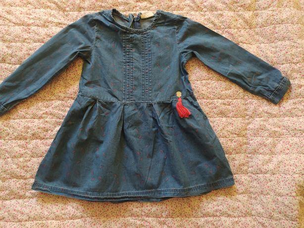 Dżinsowa sukienka 104