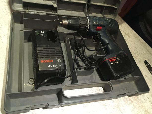 Wiertarko wkrętarka akumulatorowa Bosch GSR-12V