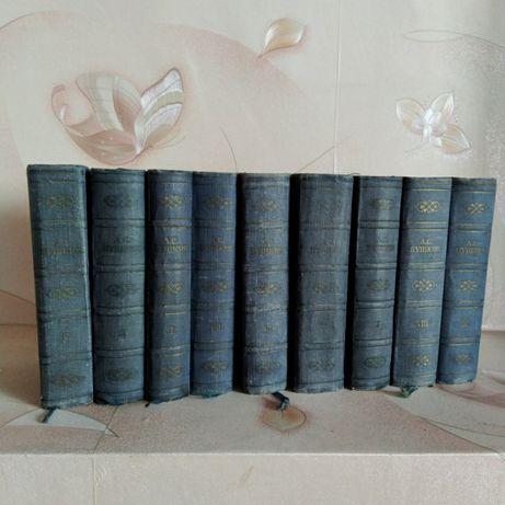 Собрание сочинений Пушкина 9 томов