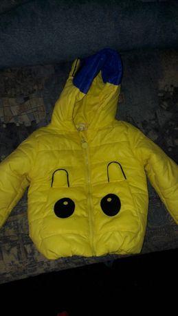 Курточка детская весна-осень утепленная